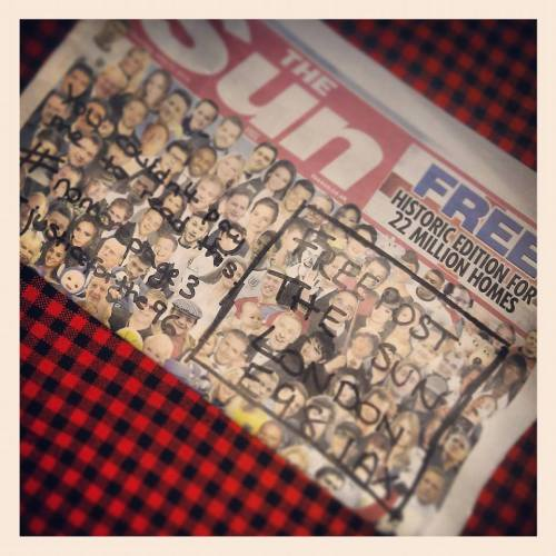 Hynd's Blog supports the #NoMorePage3 campaign