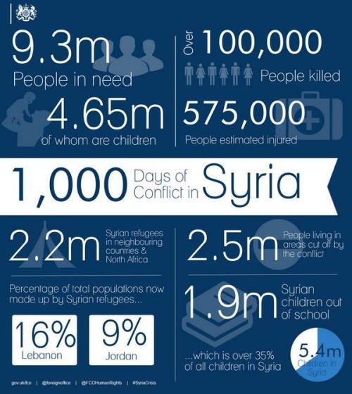 Syria 1000 days