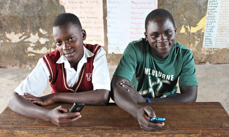St Kizito school in Uganda