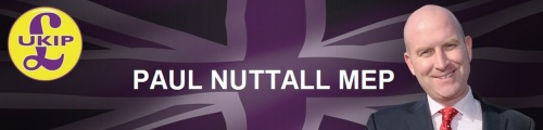 "Paul ""the nutter"" Nuttall - UKIP MEP."