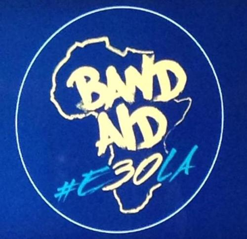 Madagascar missing from Band Aid 30 logo