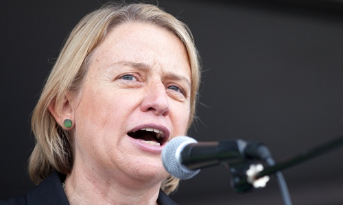 Natalie Bennett, leader of the Green party